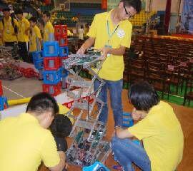 第八届湖南省青少年机器人竞赛机器人调试