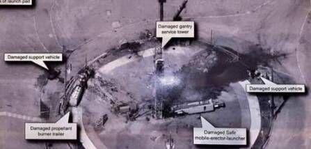 美国公开卫星照片,伊朗军方不寒而栗