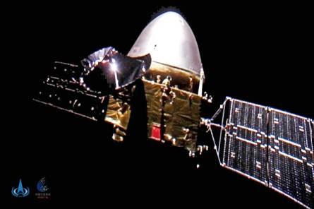天问一号探测器距离地球超过1亿公里