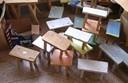 某校学生的实践活动的作品――小板凳