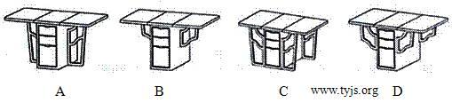 一款可折叠餐桌