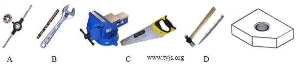 将大小合适的钢板加工成零件的合适工具