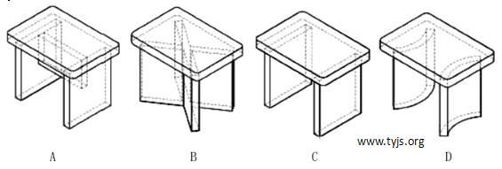 一款小木凳