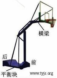 一款篮球架