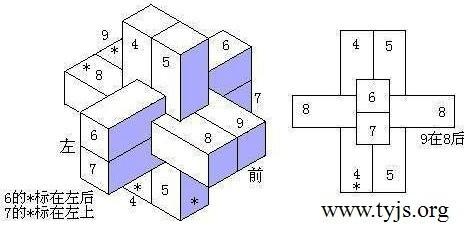 六,七,八,九柱型鲁班锁的安装与制作
